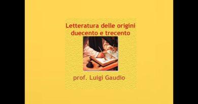 La letteratura italiana dalle origini a Boccaccio