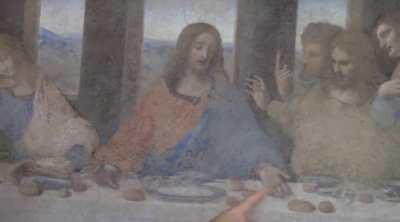 Il cuore vero del Cenacolo di Leonardo da Vinci