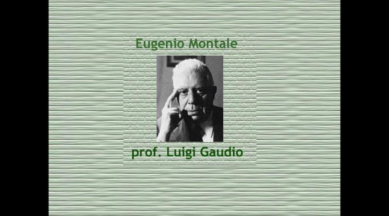 Biografia di Eugenio Montale