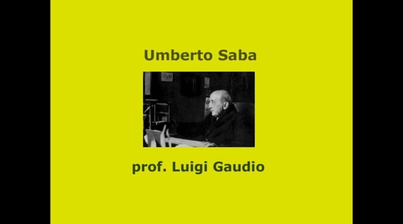 Biografia di Umberto Saba