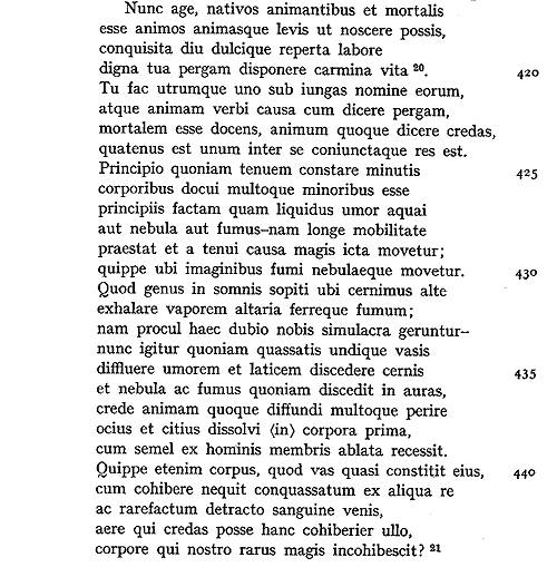 LUCREZIO: La Natura,   Pag. 224