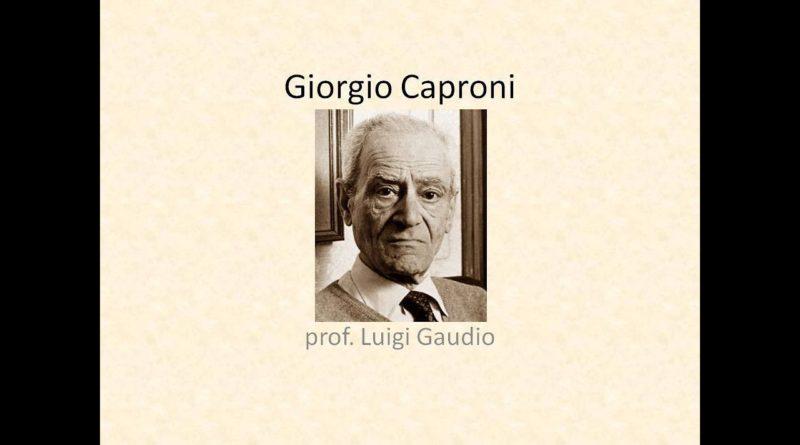 Mancato acquisto di Giorgio Caproni