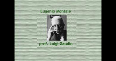 Felicità raggiunta di Eugenio Montale