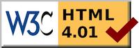 Valid HTML 4.01 Transitional