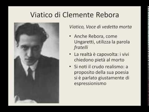 Viatico di Clemente Rebora