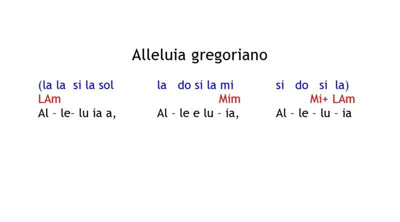 Alleluia gregoriano