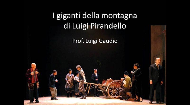 I giganti della montagna di Luigi Pirandello