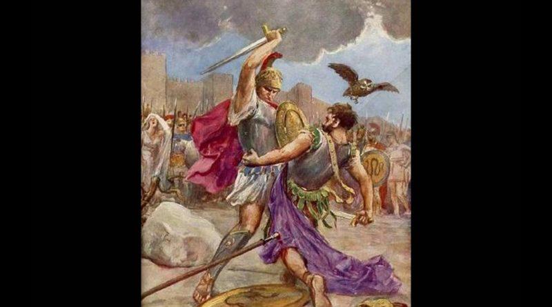Il duello finale e la morte di Turno, Eneide, XII, 710-885