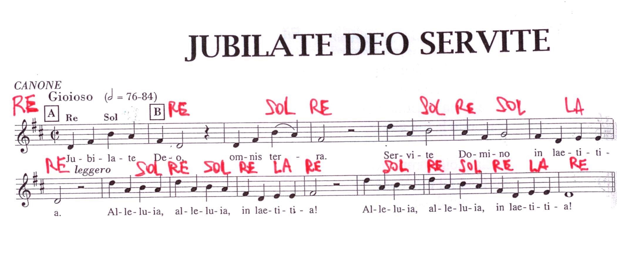 Jubilate Deo - Atuttascuola