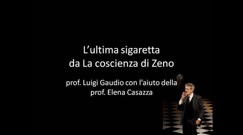L' ultima sigaretta dalla Coscienza di Zeno di Svevo