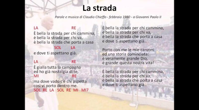 La strada di Claudio Chieffo
