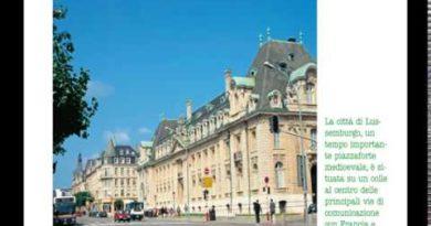 Lussemburgo lezione di geografia