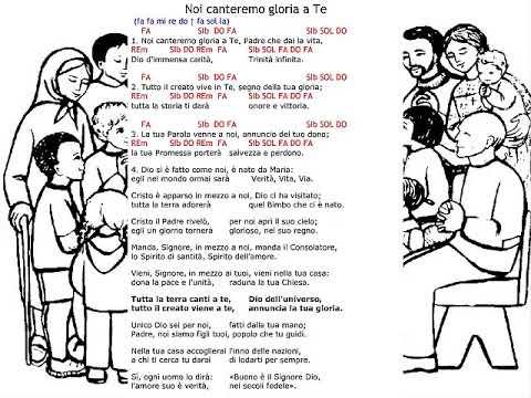 Noi canteremo gloria a Te