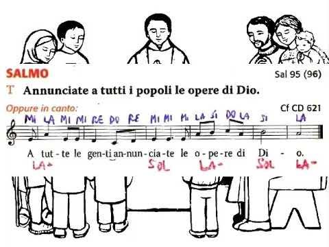 Salmo 95: A tutte le genti annunciate le opere di Dio