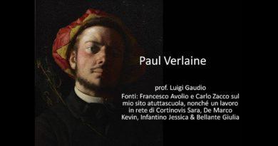 Canzone d'autunno di Paul Verlaine