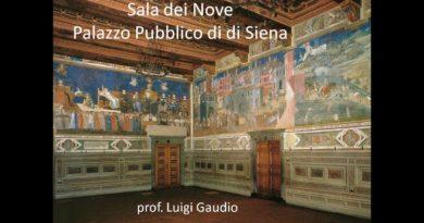 Introduzione agli affreschi della Sala dei Nove a Siena