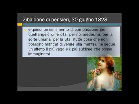 Introduzione ai Grandi Idilli e la poesia A Silvia di Giacomo Leopardi