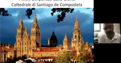 I livelli del portico della Gloria a Santiago