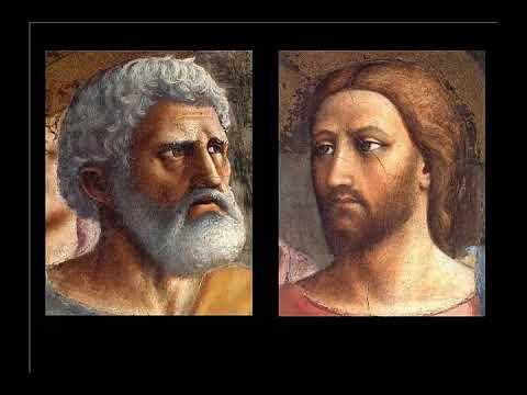 Masaccio, il tributo di Pietro