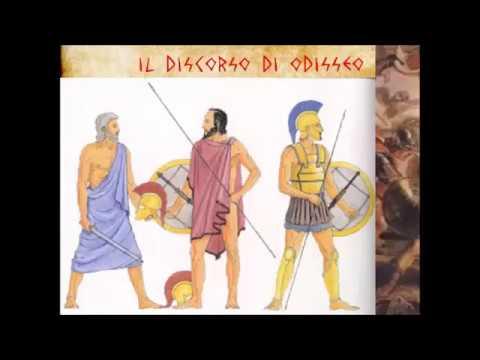 Odisseo e Tersite Iliade, 2, vv. 211-277