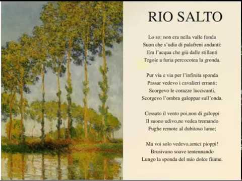 Rio Salto di Giovanni Pascoli