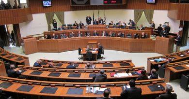 Regione Sardegna: aula Consiglio regionale