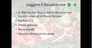 Maestro Simone prima parte Decamerone