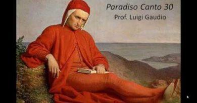 Canto trentesimo del Paradiso vv. 1-63
