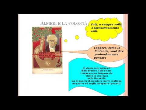 Il carattere di Vittorio Alfieri dalla sua Vita
