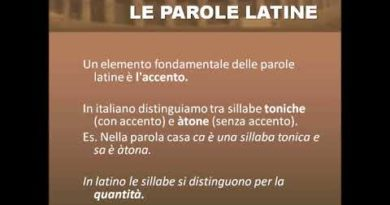 Segni e suoni del latino
