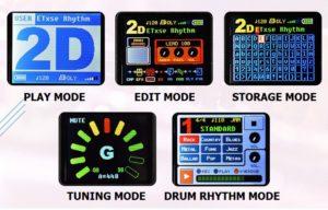 Rhythm Mode Utilizzo dell'effetto in modalità ritmica drum