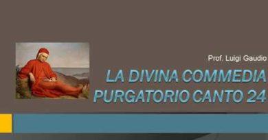 Purgatorio XXI vv. 130-136 e XIV vv. 1-51