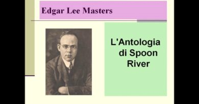 L' Antologia di Spoon RIver di Edgar Lee Masters