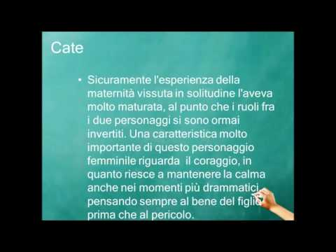 """""""I personaggi de """"""""La casa in collina"""""""" di Cesare Pavese"""""""