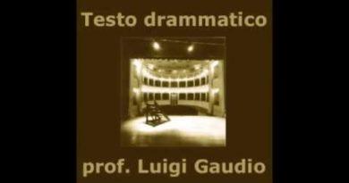 Gli elementi del Testo teatrale