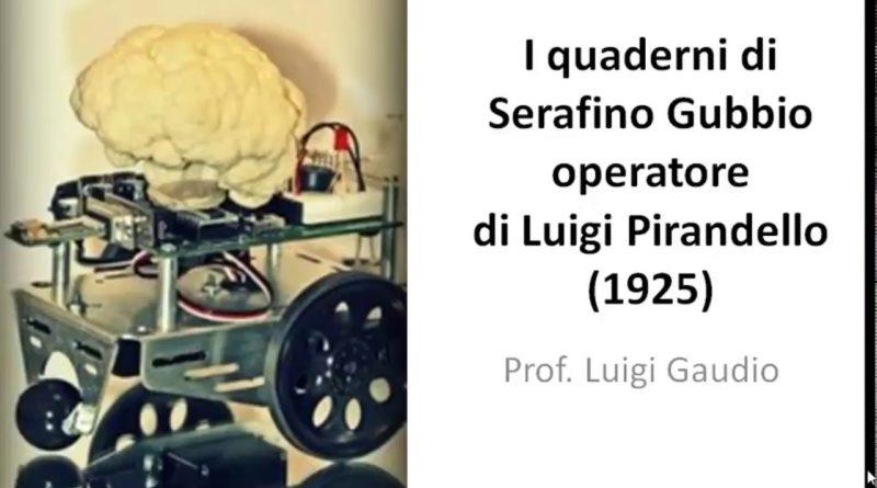 I quaderni di Serafino Gubbio operatore