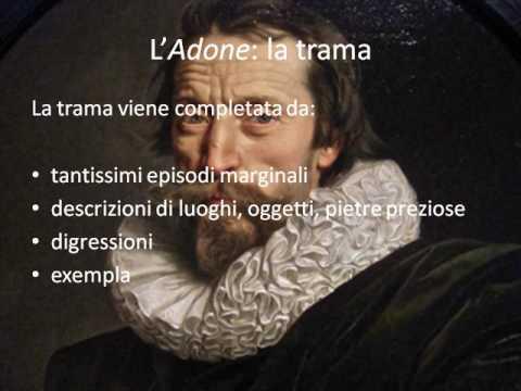 Introduzione generale all' Adone di Marino