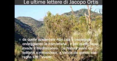 La valle del Roja presso Ventimiglia dall'Ortis di Foscolo