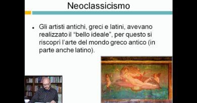 Neoclassicismo – Ripetizioni di Letteratura dell'800 – 29elode