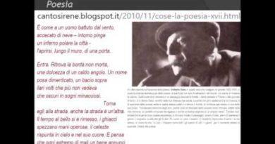 Poesia di Umberto Saba