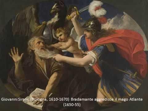 Bradamante e Ruggiero si ritrovano solo per un attimo