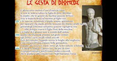Le gesta di Diomede e il ferimento di Afrodite. Iliade V vv. 311-346