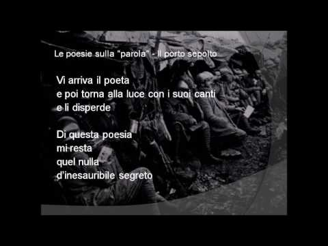 Il porto sepolto di Giuseppe Ungaretti