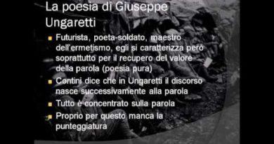 Introduzione alla lettura di Mattina di Giuseppe Ungaretti