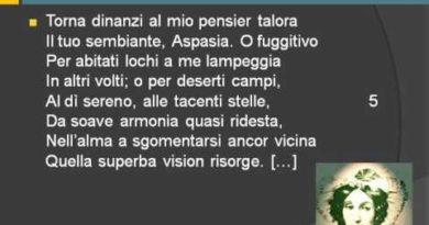 Il ciclo di Aspasia e i canti napoletani