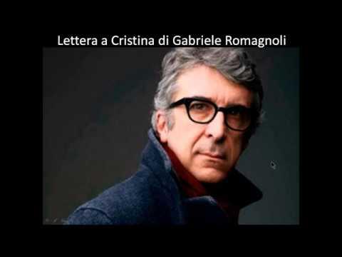 Lettera a Cristina di Gabriele Romagnoli