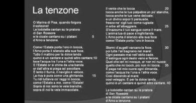 La tenzone di Gabriele D'Annunzio