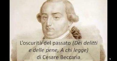 Dei delitti e delle pene di Cesare Beccaria