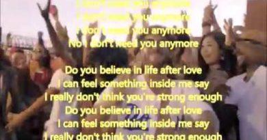 Believe cover lyrics Cher