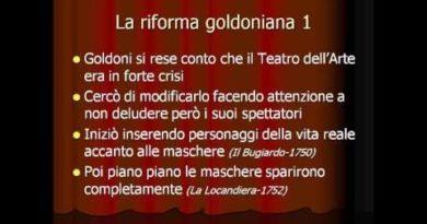 La riforma goldoniana: mettere il mondo in teatro